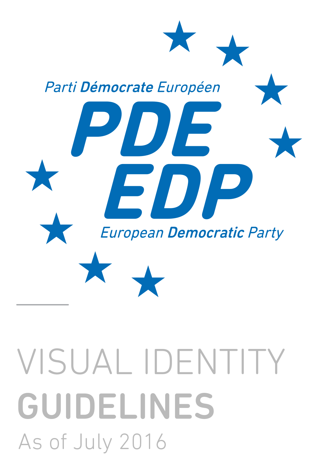 EDP Visual identity guidelines
