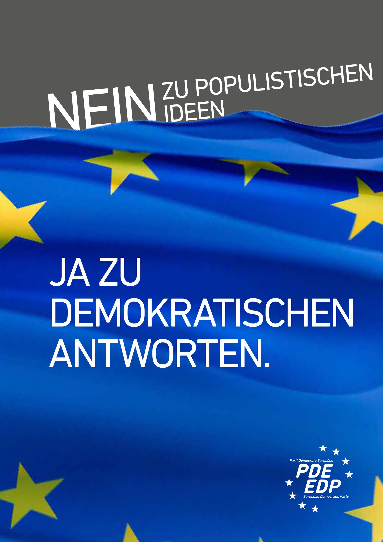 No to Populism - German