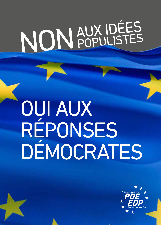 Brochure Populisme français