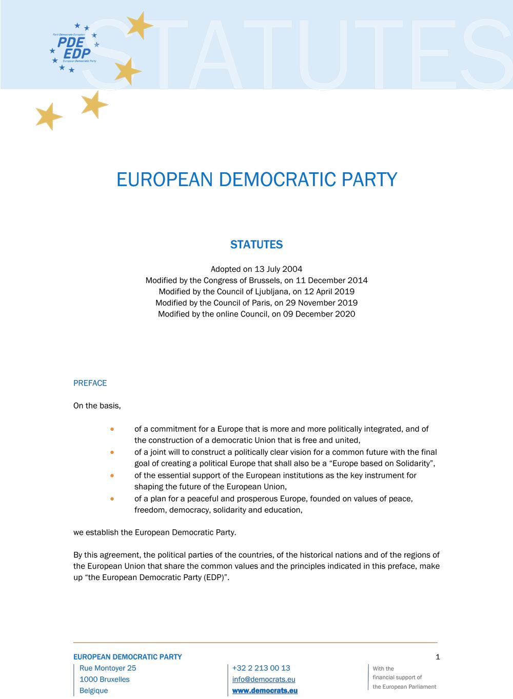 Statuts EN 2020