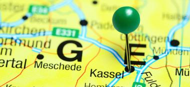 Kassel map